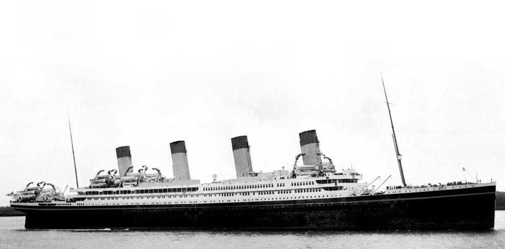 タイタニックと同じく沈没したHMHSブリタニック号