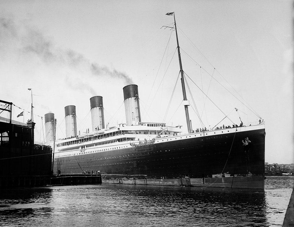 タイタニック号の姉妹船RMSオリンピック号