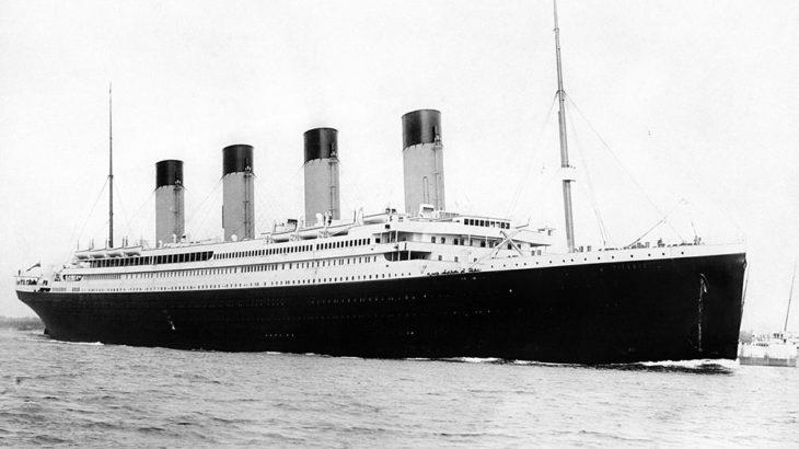 【豆知識】タイタニックには沈没した姉妹船があった。