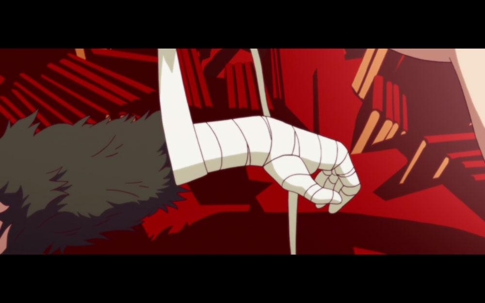 神原駿河に取り付いた悪魔の左腕