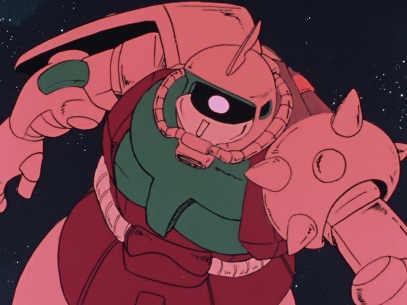 どう見てもピンクなシャア専用ザク