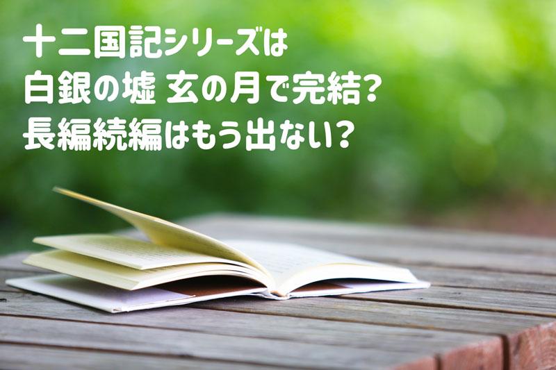 十二国記シリーズ長編続編はもうない?